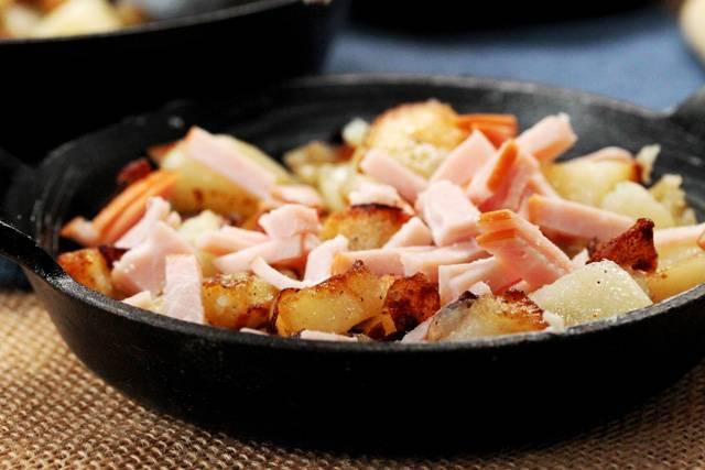 Рецепты картофель запечённый с беконом