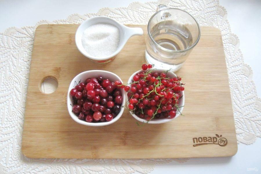 Малина или земляника в соке красной смородины с сахаром. консервирование и лучшие кулинарные рецепты опытных садоводов и огородников