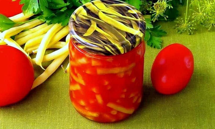 Спаржевая фасоль: рецепты приготовления на зиму пошагово
