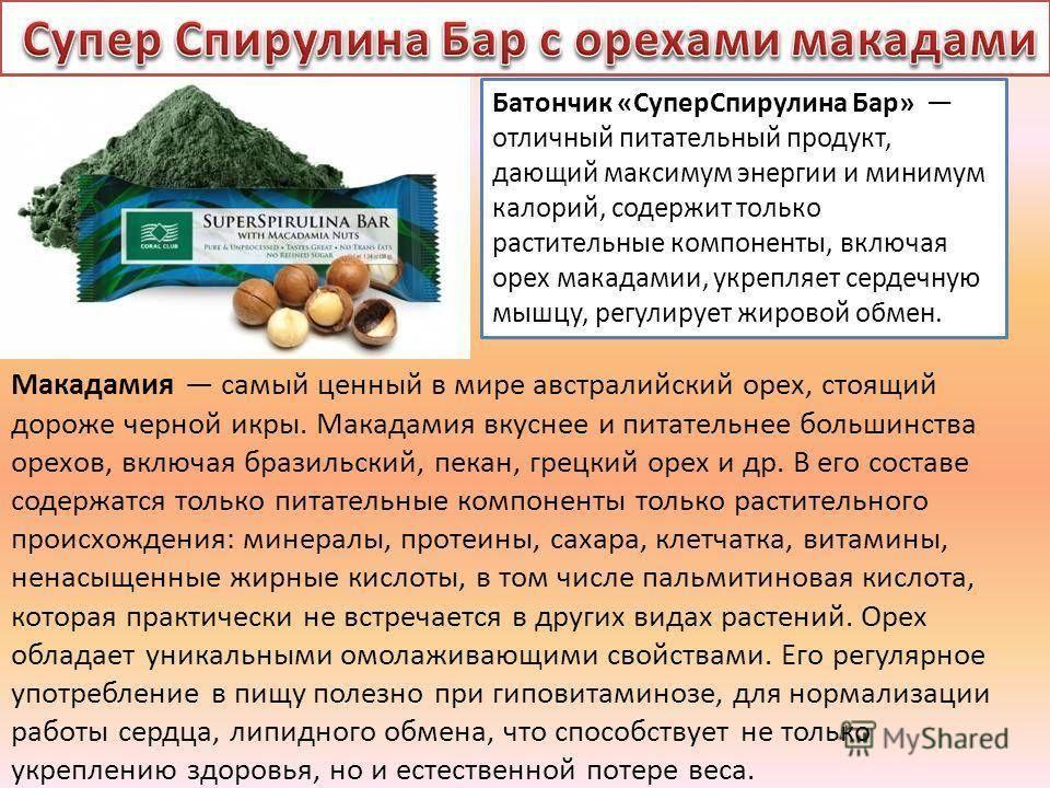 Орех макадамия: польза и вред для организма человека