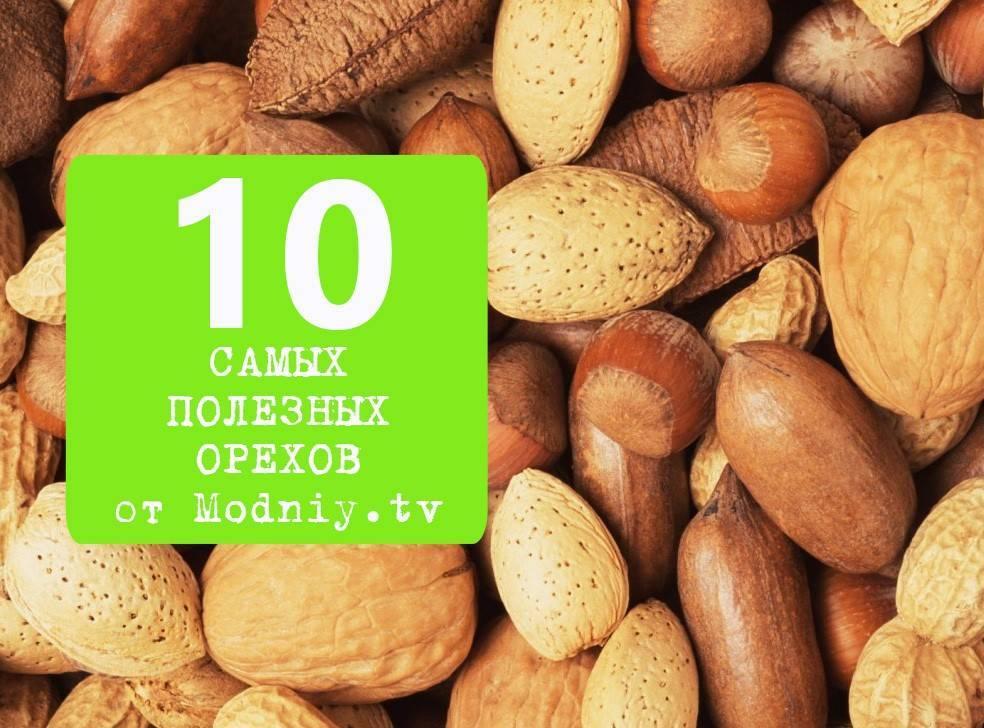 20 самых полезных орехов для всех