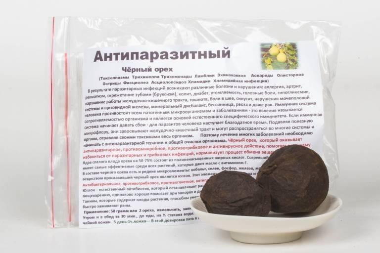 Настойка черного ореха: инструкция по применению, противопоказания к использованию, полезные свойства