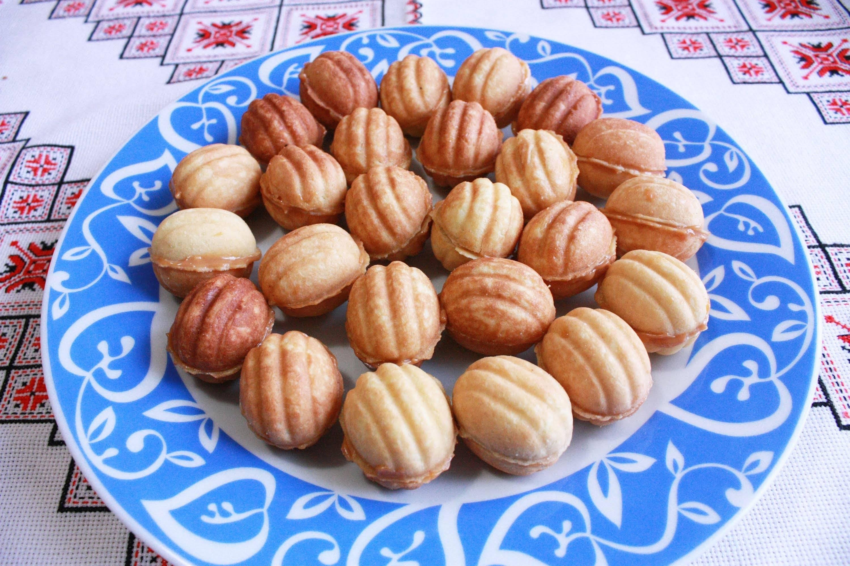 Орешки со сгущенкой - классический пошаговый рецепт