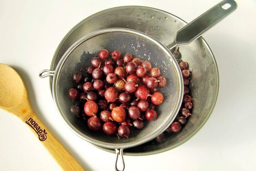 Крыжовник без варки с сахаром на зиму — 7 рецептов протертого крыжовника