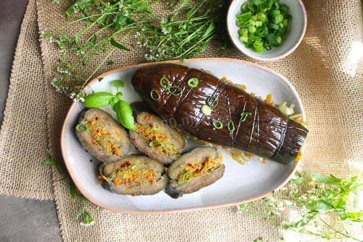 Фаршированные квашеные баклажаны с морковью и чесноком: топ-6 рецептов на зиму и прямо к столу