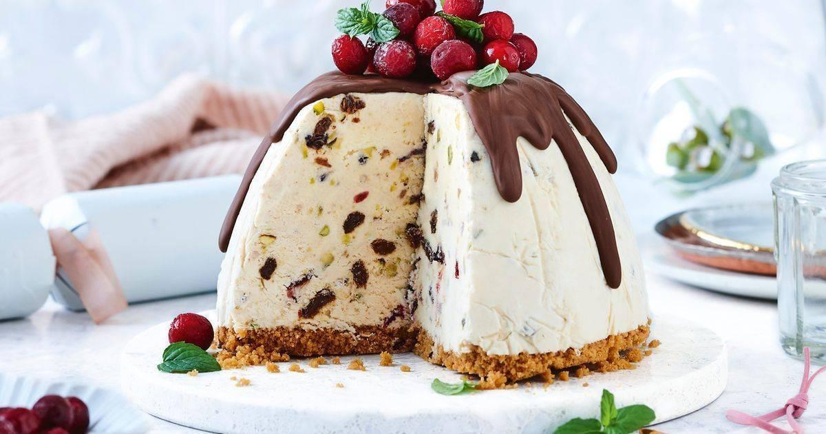 Торт-мороженое 3 рецепта в домашних условиях