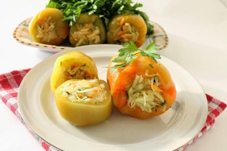 Голубцы с овощами и рисом - 11 пошаговых фото в рецепте